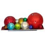 tamaños de esferas