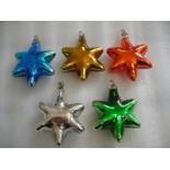 estrella soplada colores plateados