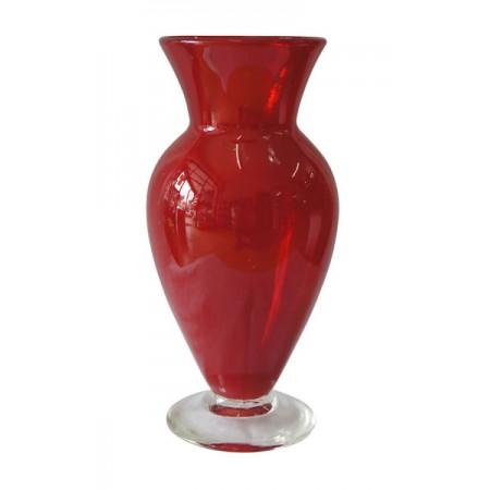 florero urna solido rojo