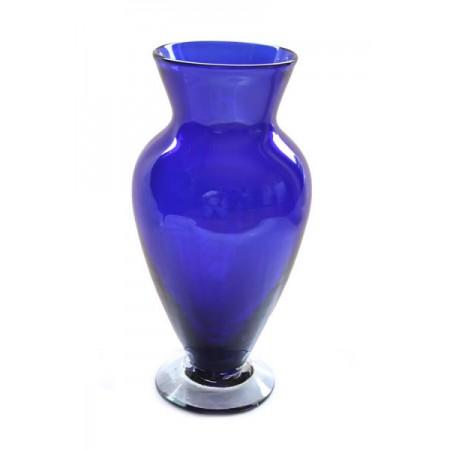 florero urna azul