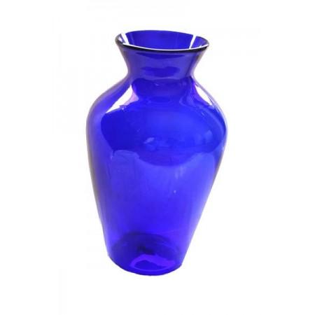 florero jarron gde azul