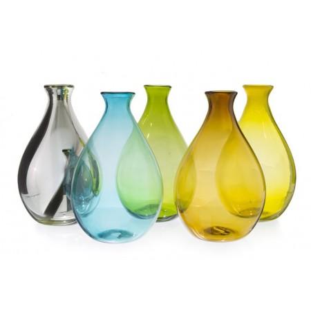 El nuevo triangulo de cristal vidrio soplado en tonala jalisco botella gotas colores - Vidrio plastico transparente precio ...