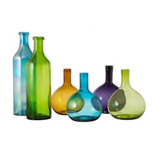 El nuevo triangulo de cristal vidrio soplado en tonala for Botellas de cristal ikea