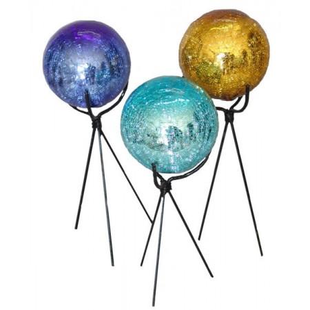 esferas 12cm craquelada