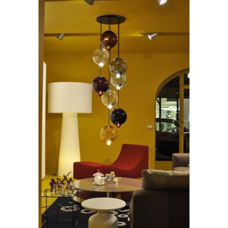 lampara colgante esferas