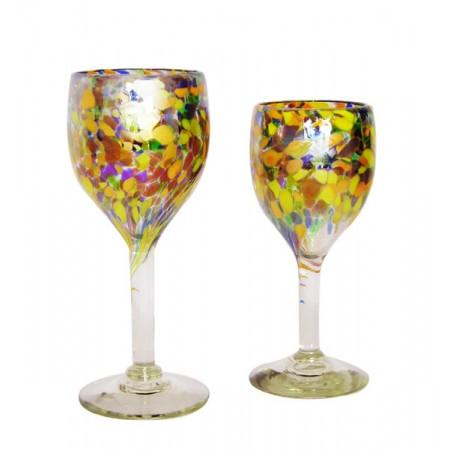copas de vino festival con lustre
