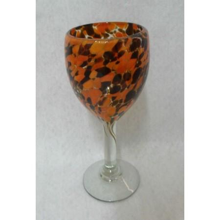 El nuevo triangulo de cristal vidrio soplado en tonala for Copa vino tinto